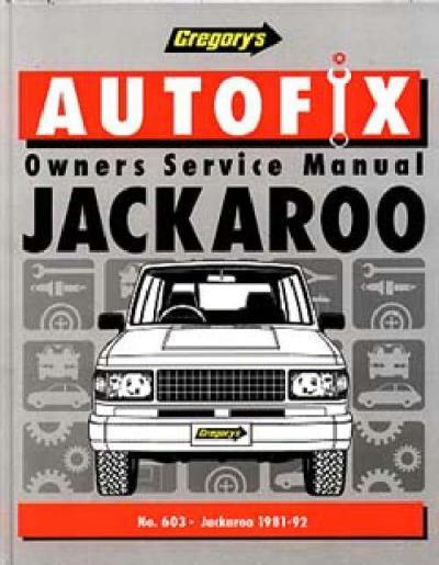 2003 holden jackaroo workshop manual