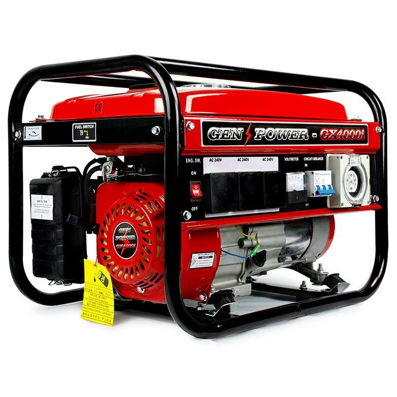 gen power gx4000i generator manual