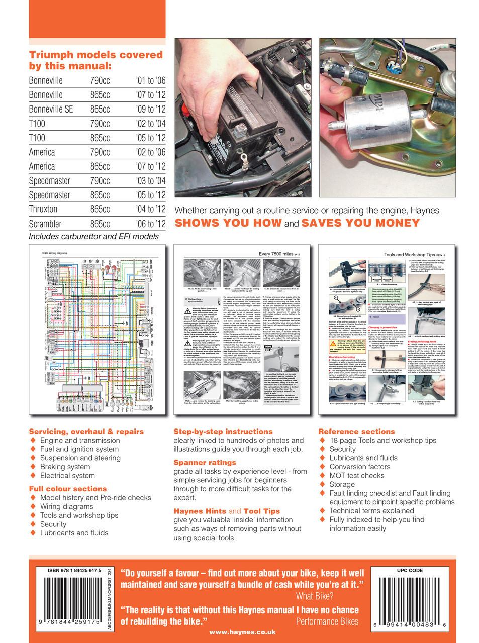 2007 865 america speedmaster workshop manual