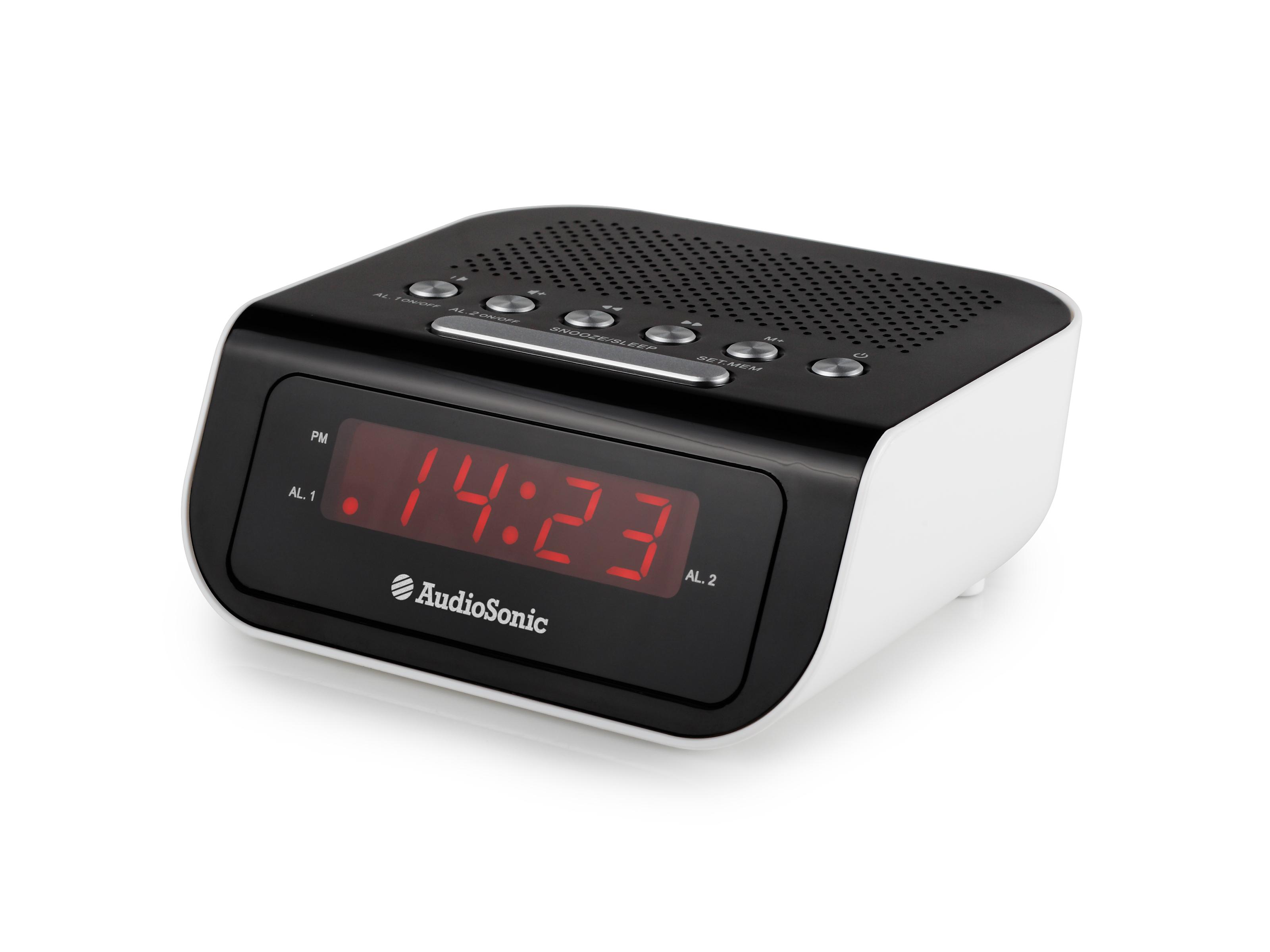 audiosonic clock radio cr-16pl manual