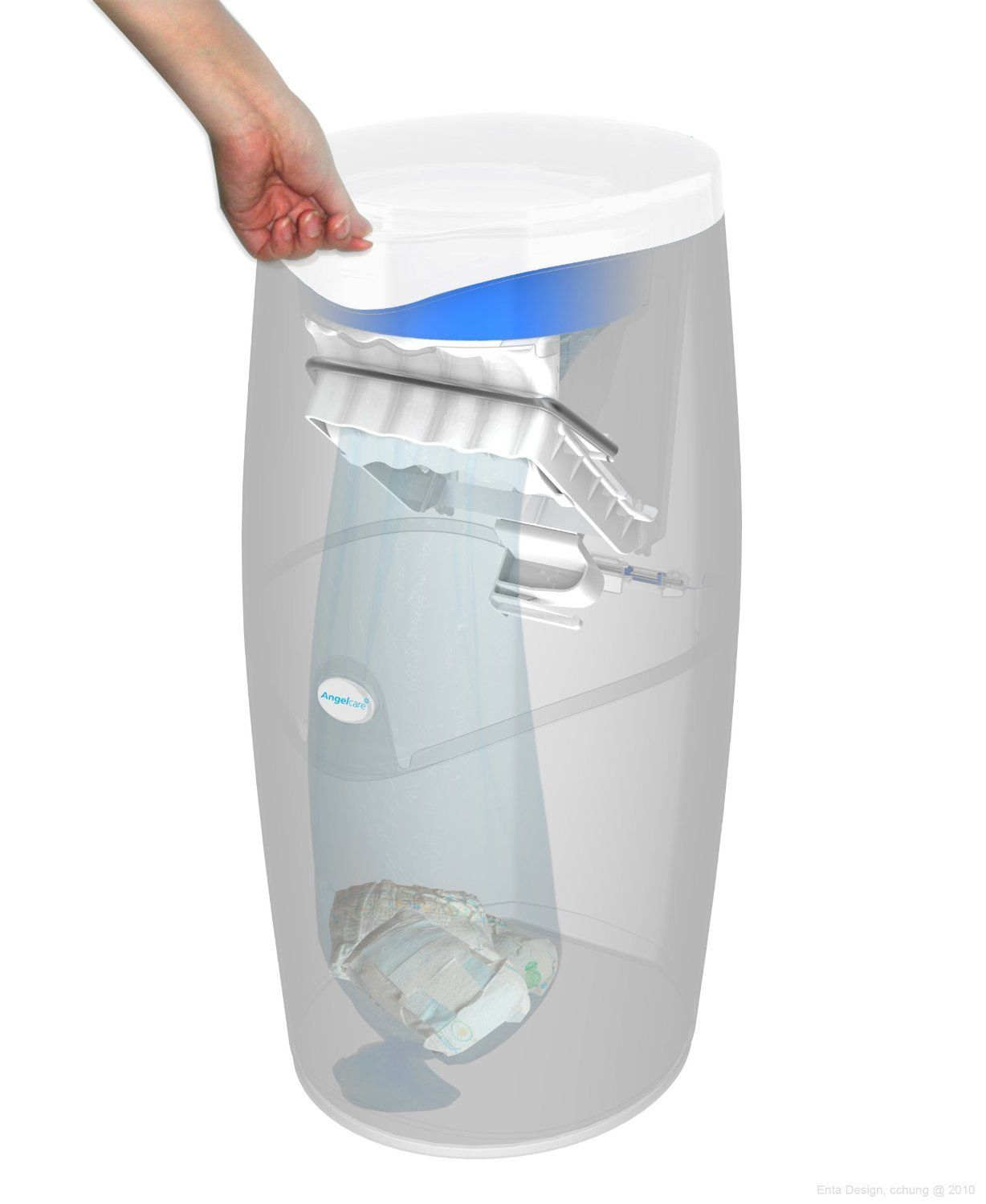 angelcare nappy disposal system manual