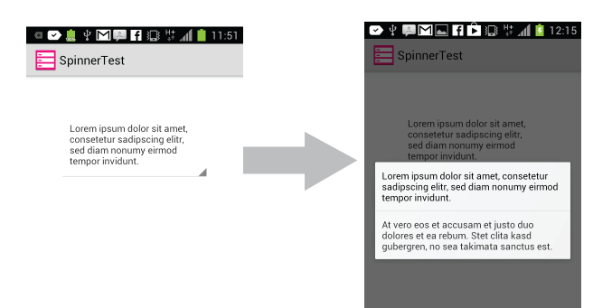 manually add items to spinner android