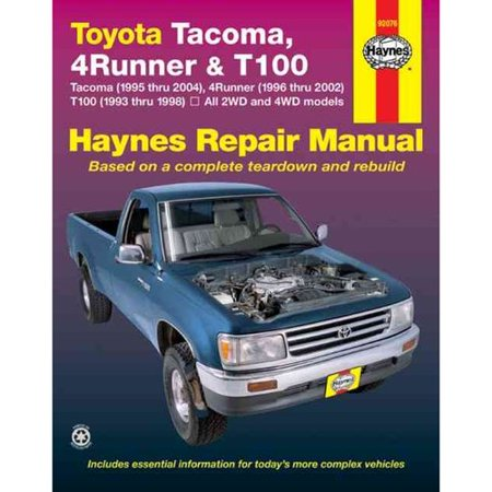 1990 toyota 4runner parts manual