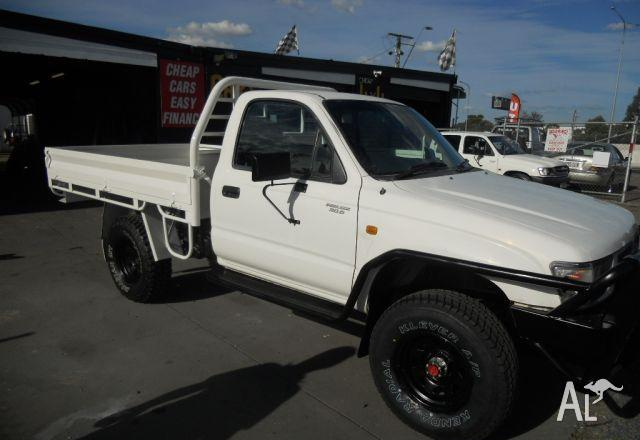 2001 toyota hilux ute owners manual