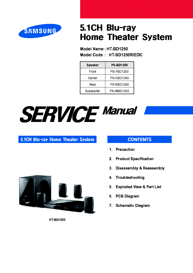 samsung scm-8250 service manual