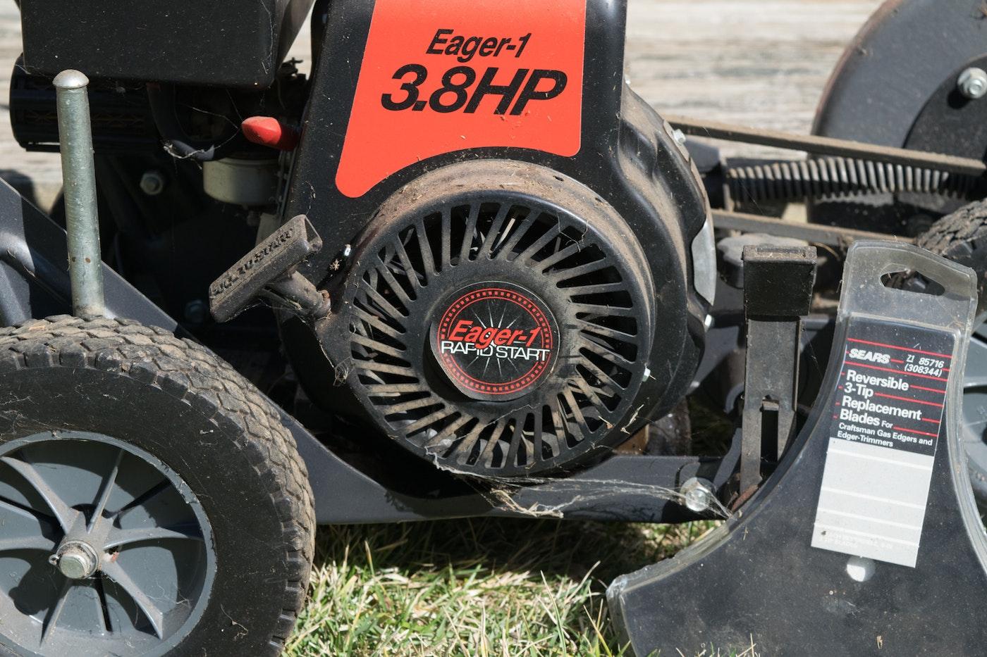 craftsman 3 hp electric edger manual