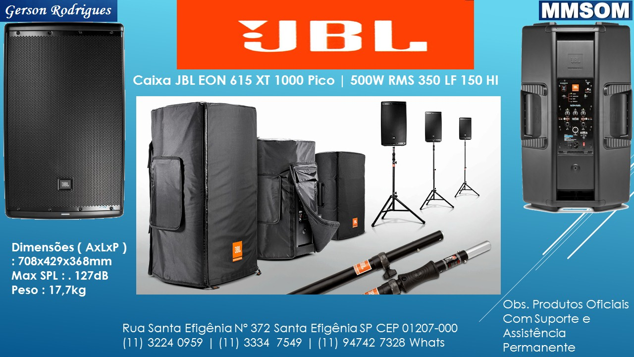 jbl eon 600 series manual