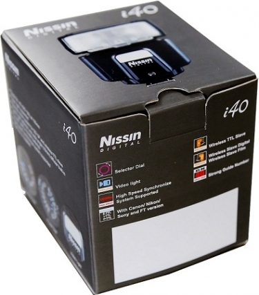 nissin i40 instruction manual for sony