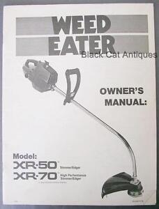 poulan gas weed eater manual