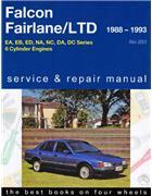 1995 xg falcon workshop manual