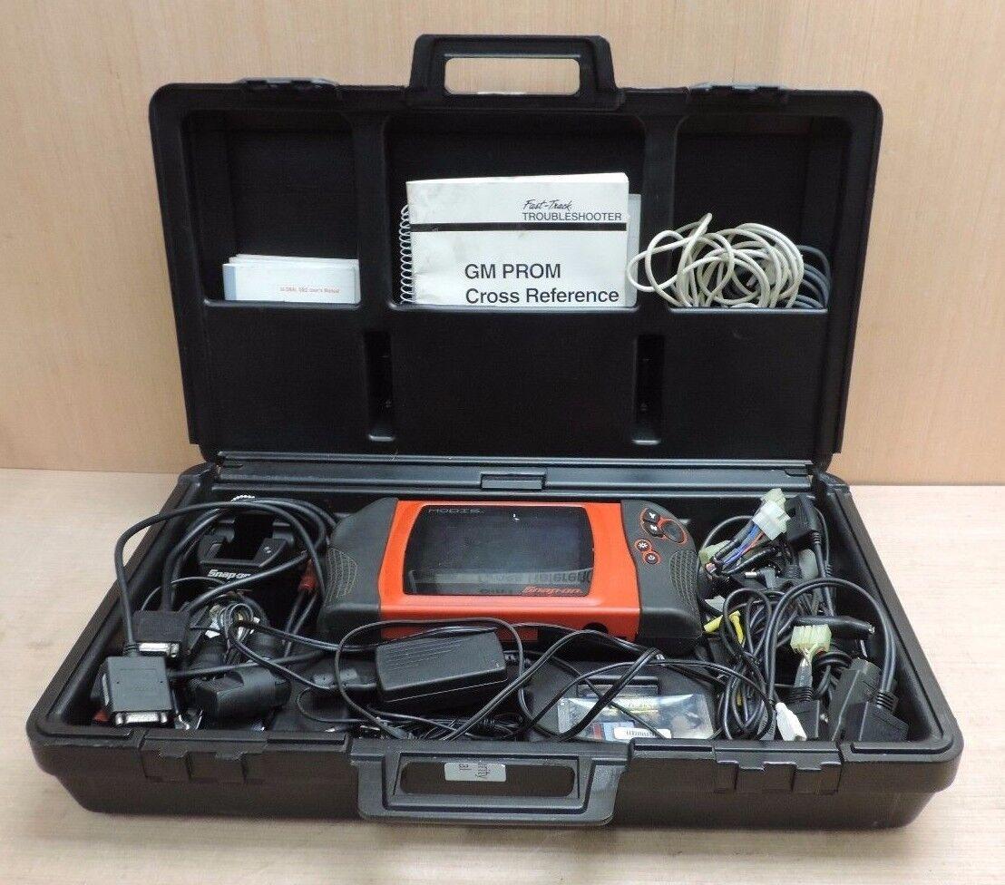 manual de scanner snap on mt2500