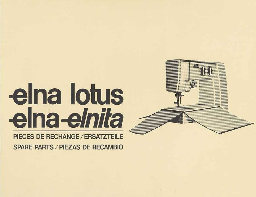 elna lotus sp repair manual