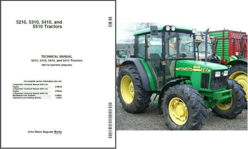 5410 john deere workshop manual