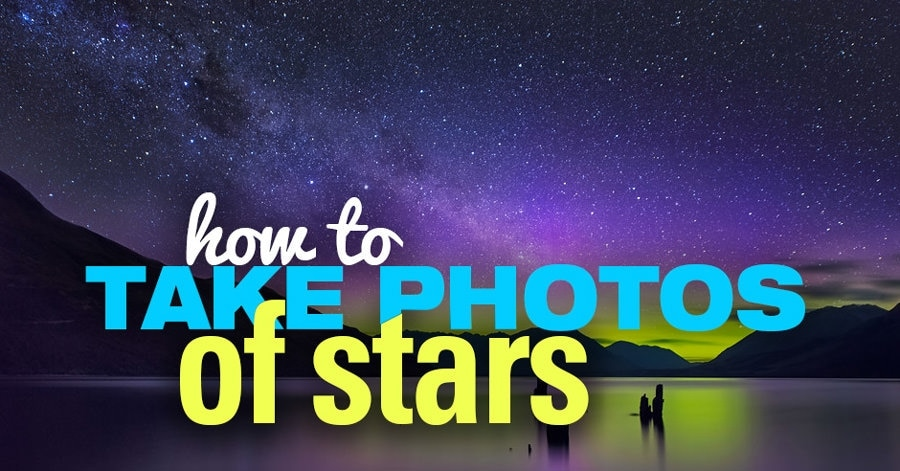 how to take photos of stars manual