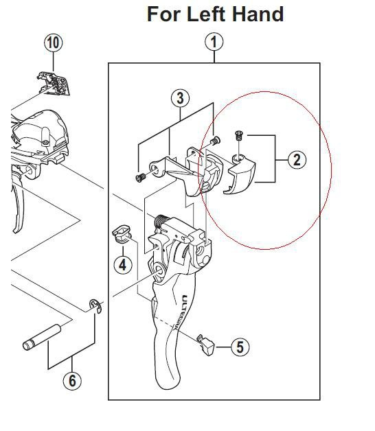 shimano ultegra 6700 front derailleur manual