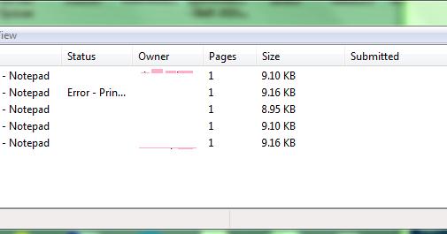 manually clear printer queue ubuntu