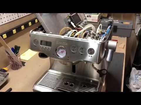breville espresso maker manual dual bioler