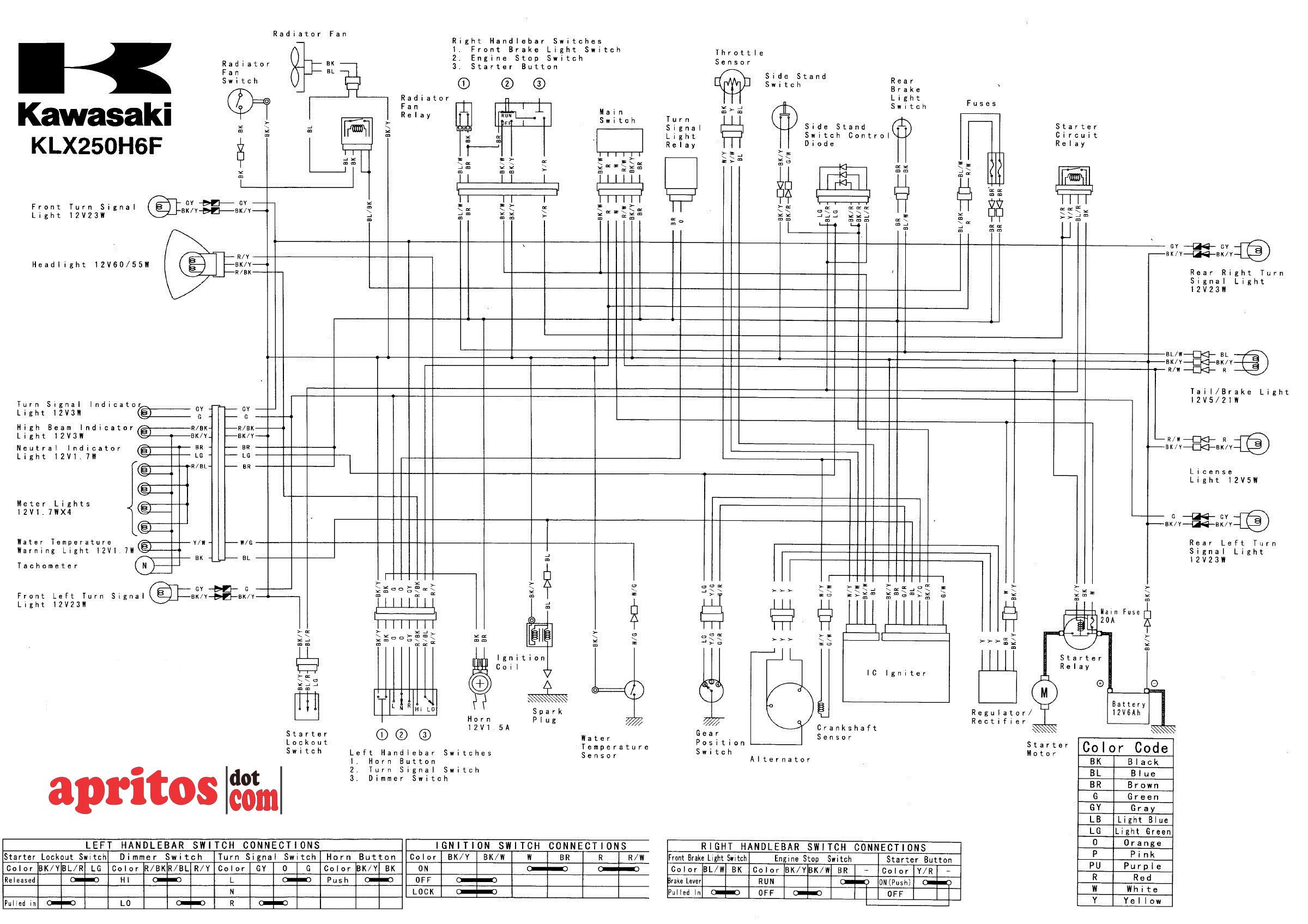 2007 klx 250 workshop manual