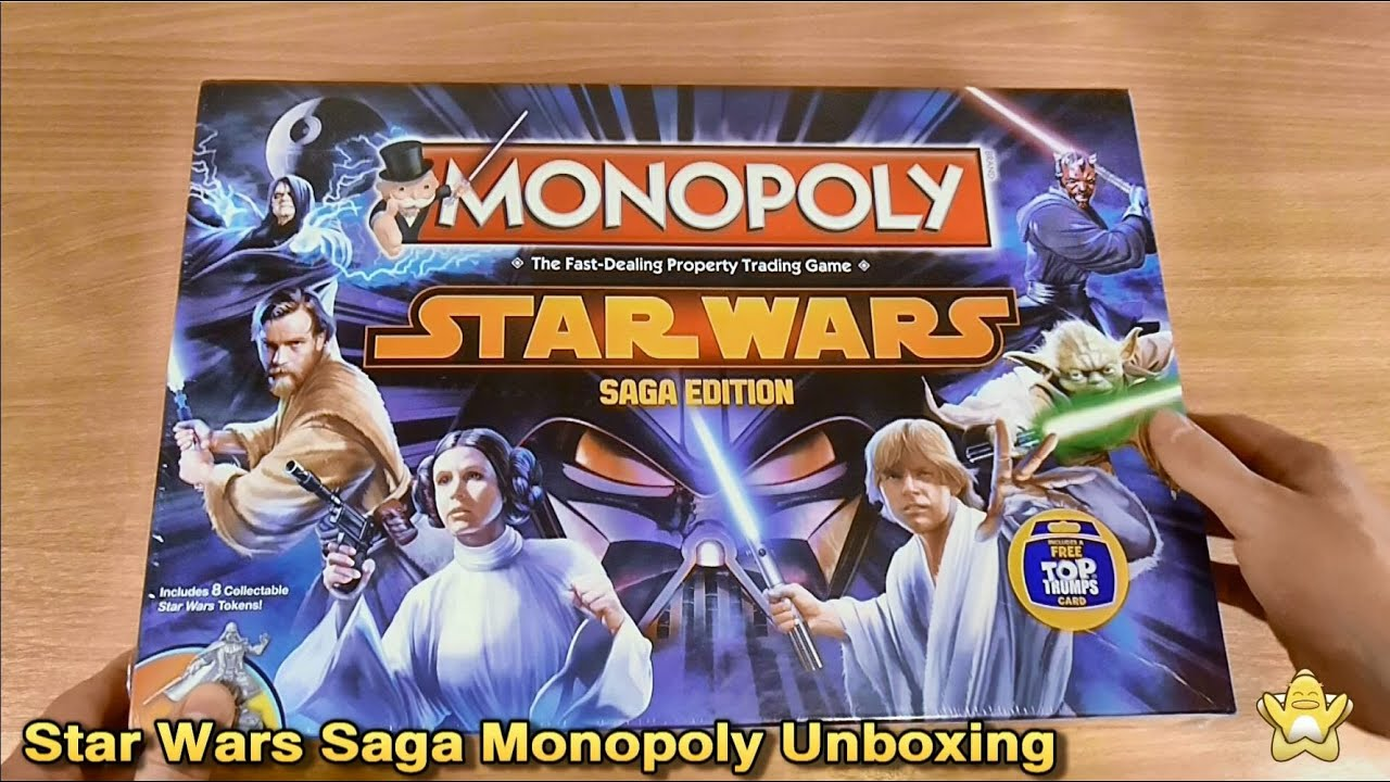 star wars monopoly saga edition manual