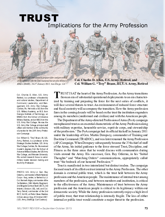 army leadership field manual pdf