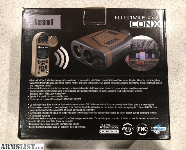 bushnell elite 1 mile conx manual