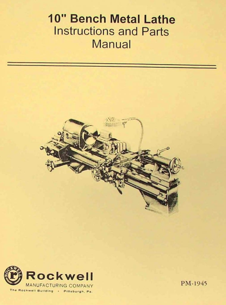 bruiser metal lathe instruction manual