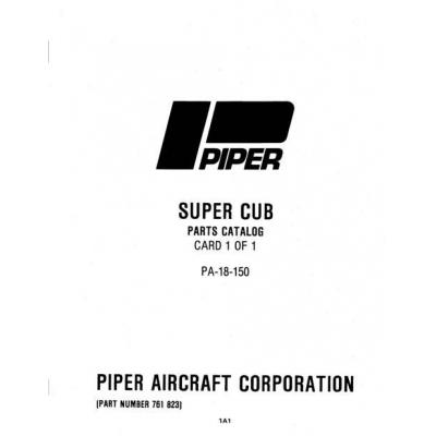 piper pa 18 150 super cub manual