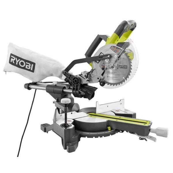 ryobi 10 inch sliding miter saw manual