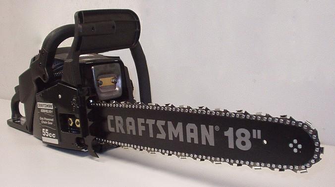 craftsman 55cc 18 inch chainsaw manual