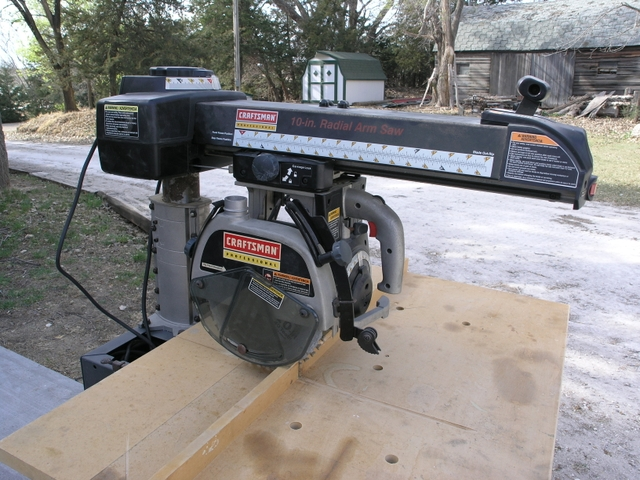 Craftsman Radial Arm Saw Owners Manual