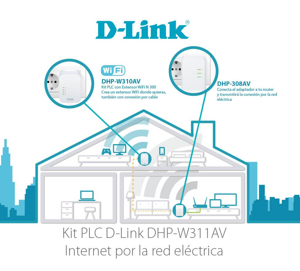 d-link powerline dhp-308av manual