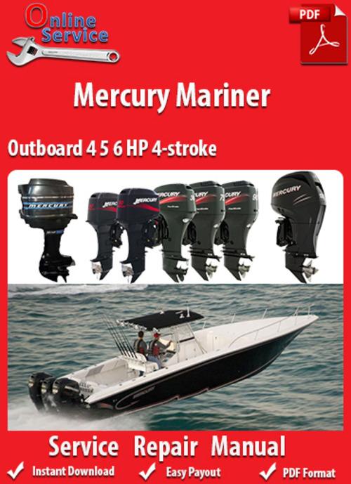 1998 mercury 60 hp outboard manual
