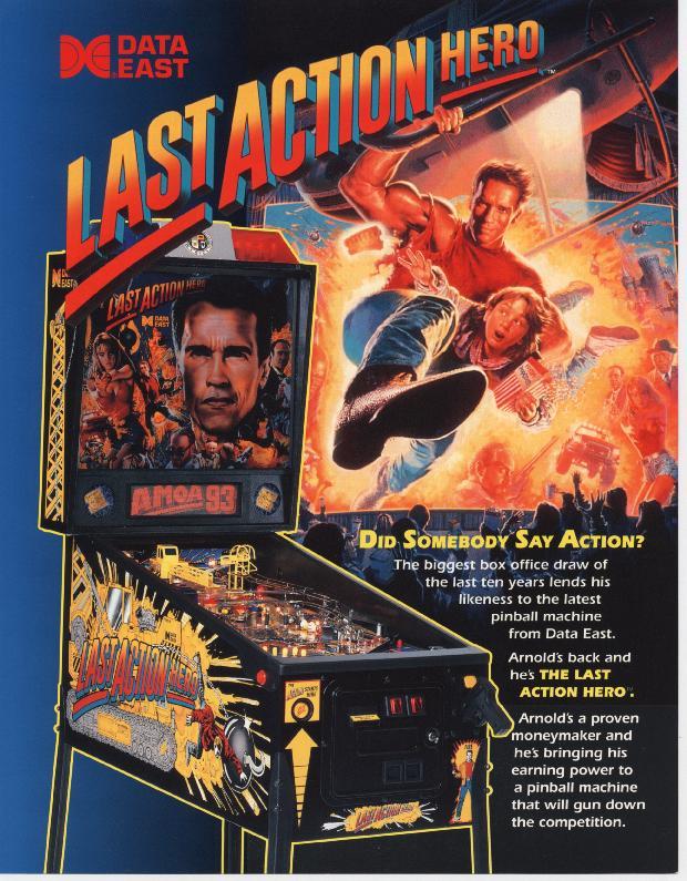 last action hero pinball machine manual