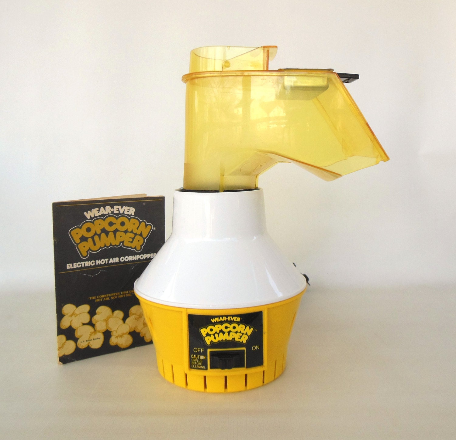instruction manual for cookwell popcorn maker