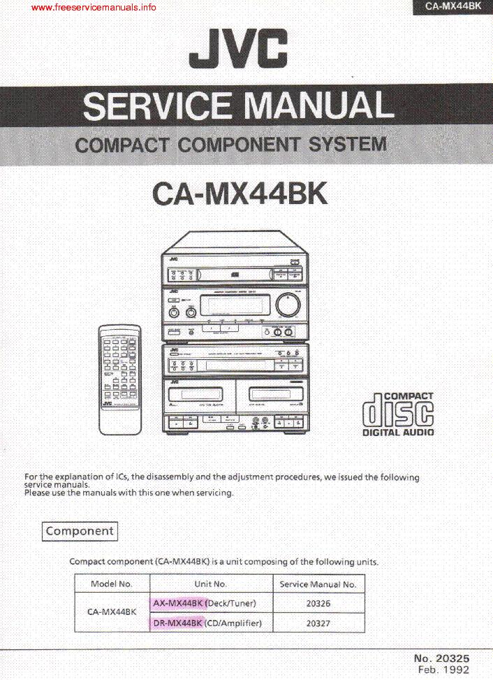 jvc jl-a15 service manual pdf