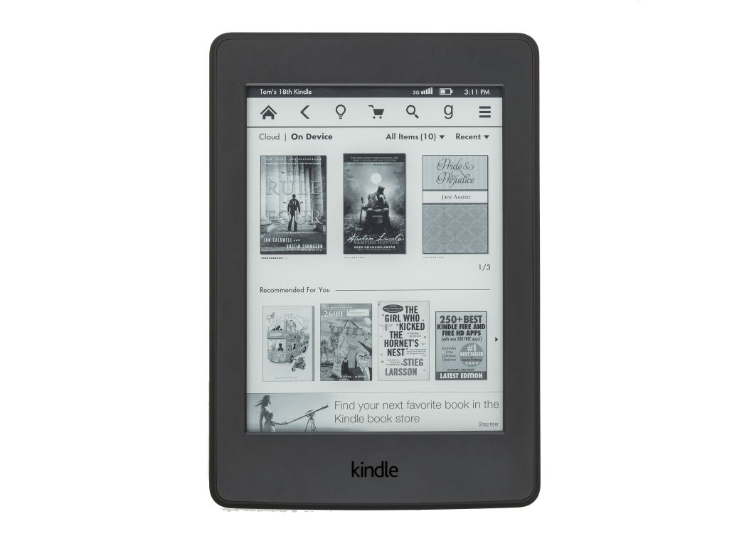 kindle paperwhite 3rd generation manual