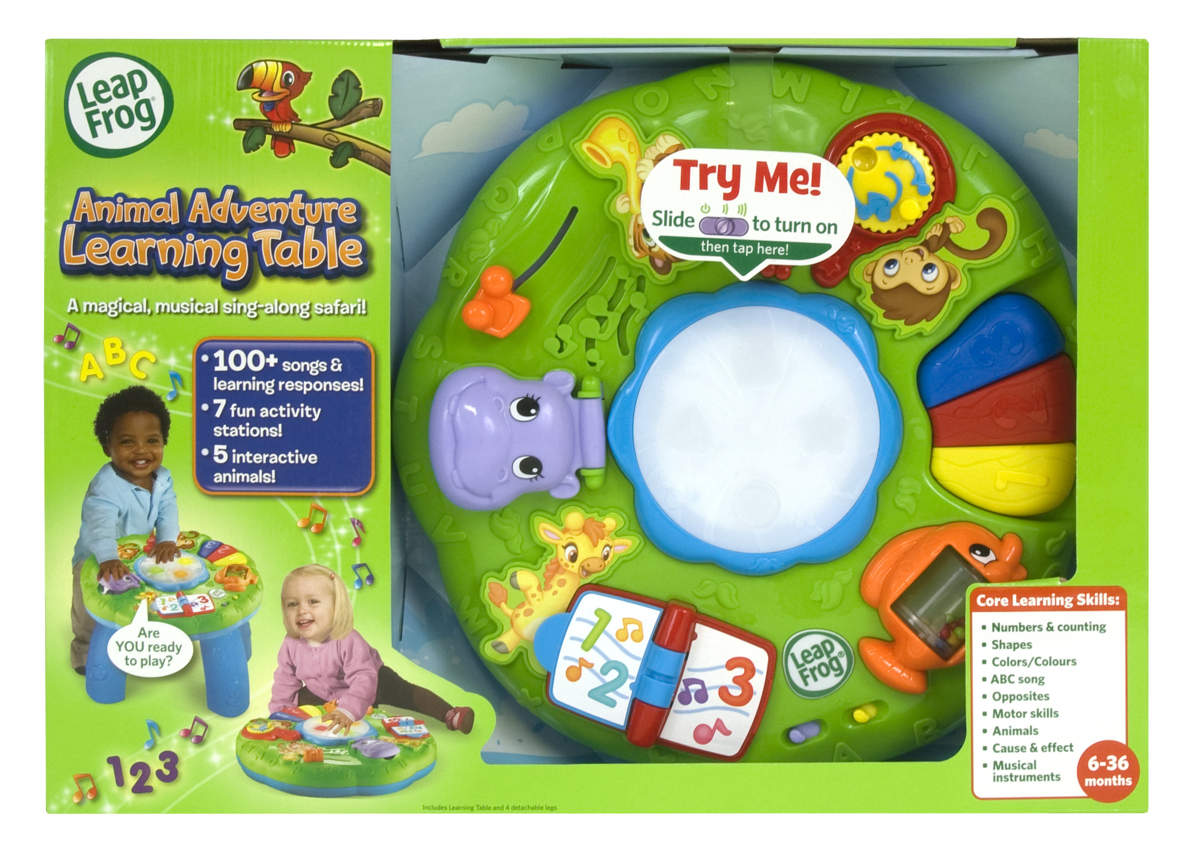 leapfrog animal adventure learning table manual