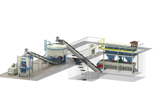 manual fly ash brick making machine