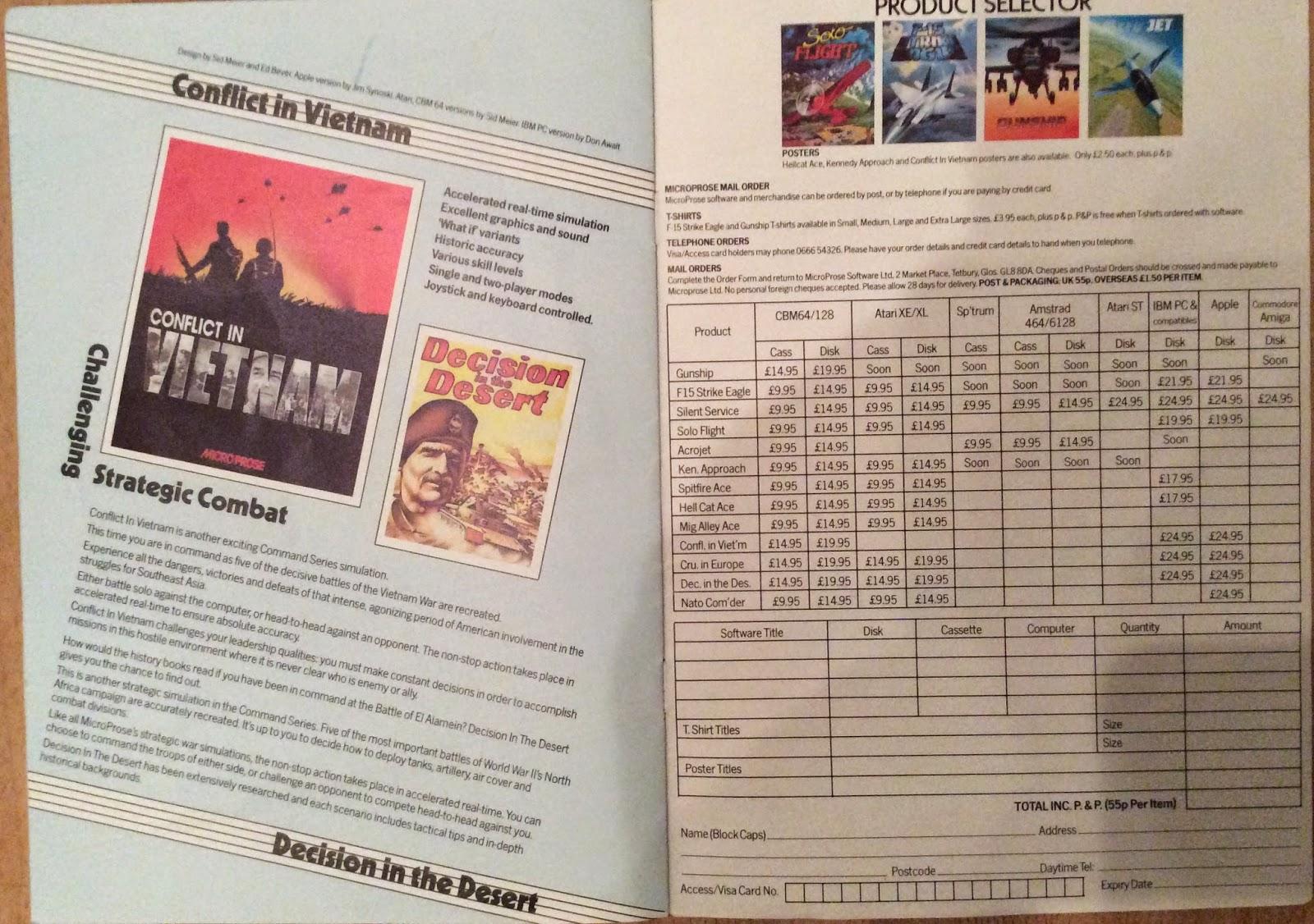 manual for conflict in vietnam c 64