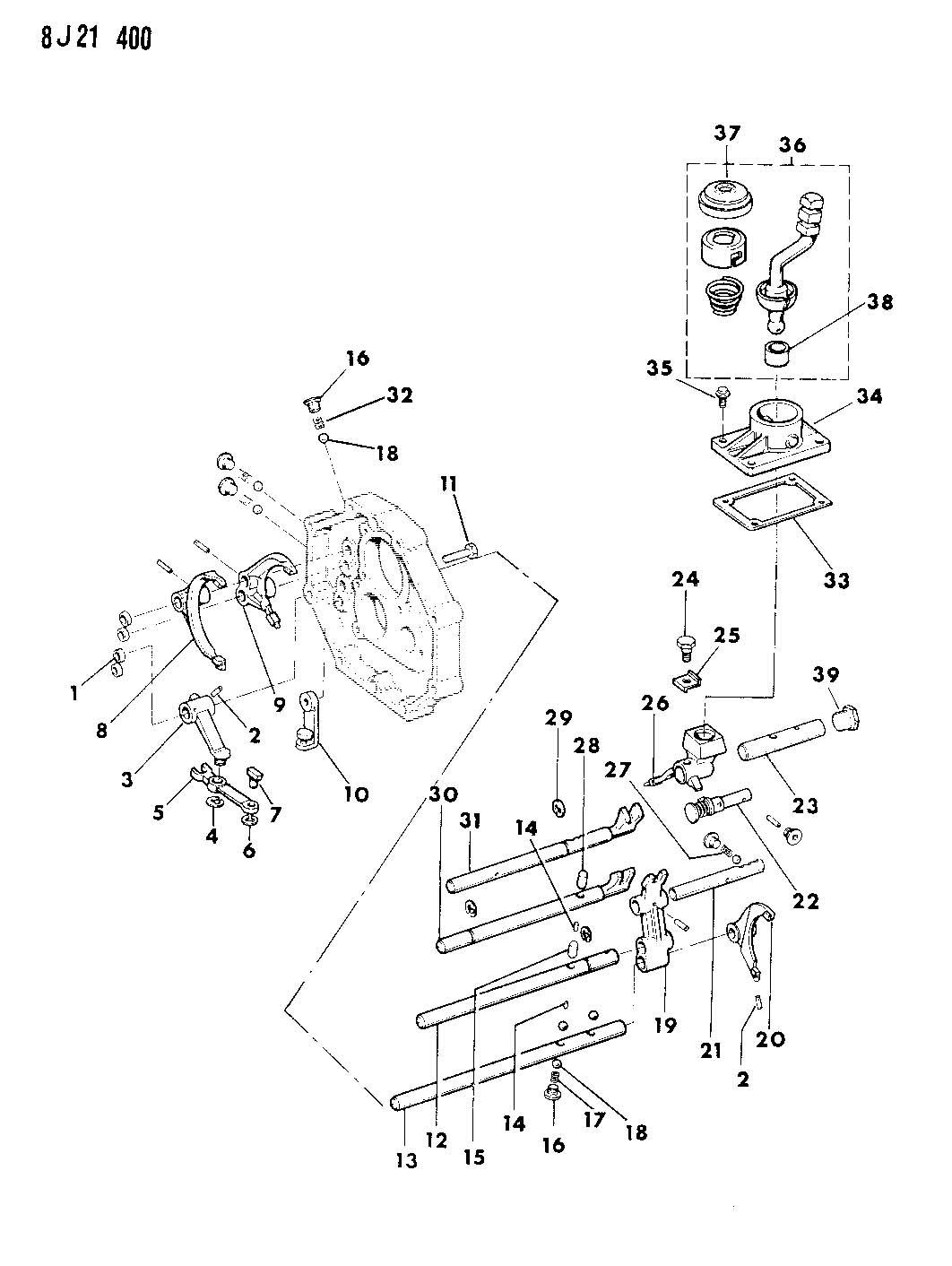 manual gear shifter for jeep wrangler