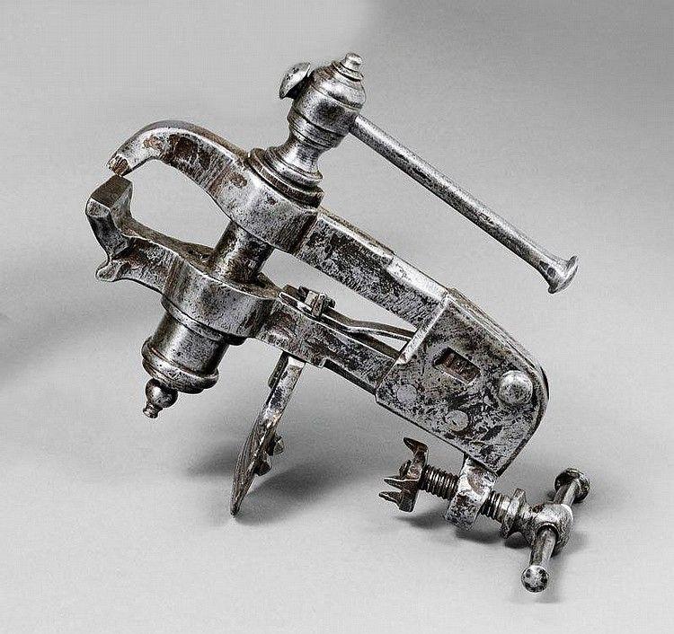 manual wrought iron machine hand tools