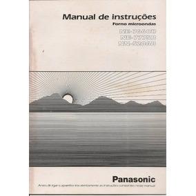panasonic microwave no 253b manual