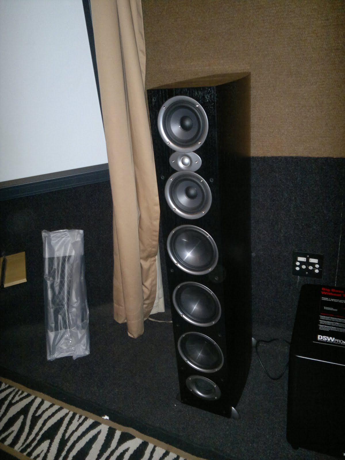 polk audio rti a9 manual