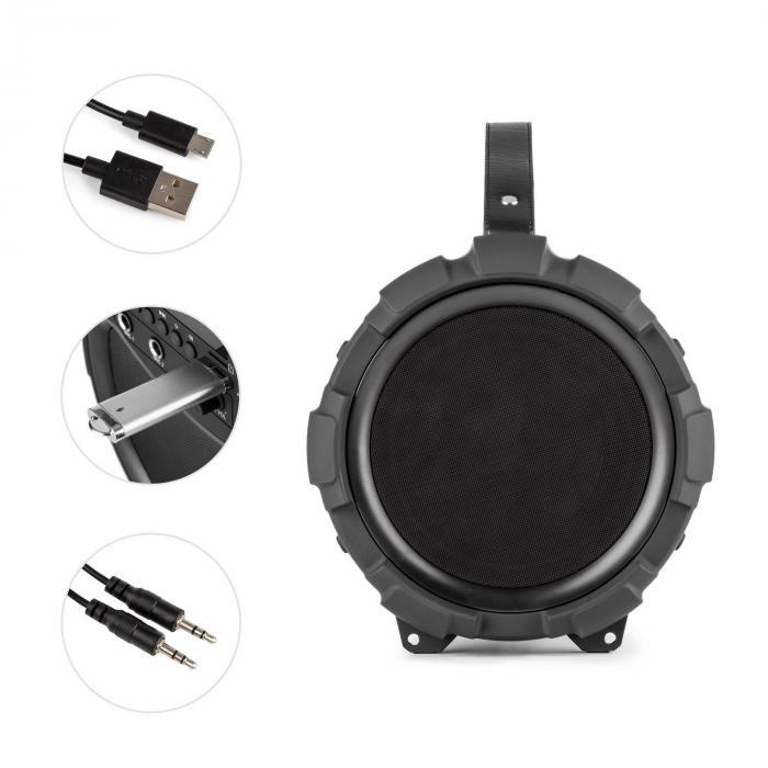 qudo led bluetooth speaker manual