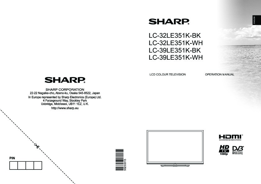 sharp lc-80le632u user manual